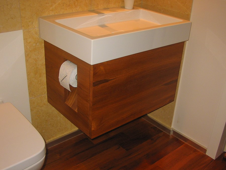 Tischlerei Waschbecken